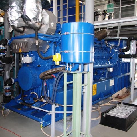 Газопоршневой агрегат MWM