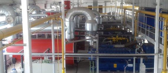 Утилизация дымовых газов после ГПУ паровыми котлами утилизаторами с горелкой  COGENERATION, THE USE OF COGENERATION INSTALLATIONS
