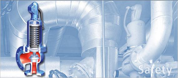 Предохранительные клапана для паровых котлов, термических деаэраторов
