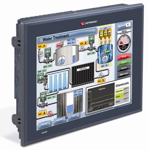 Свободно программируемый контроллер Unitronics Vision 1210